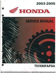 2003 2004 2005 honda trx650 rincon atv service manual repair 2003 2004 2005 honda trx650 rincon atv service