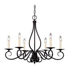 illumine english bronze finish multi light interior chandelier cli sh202851562 the home depot
