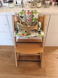 stokke tripp trapp highchair with baby set harness and cushion