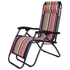 foldable reclining zero gravity chair with adjule headrest for home and outdoors
