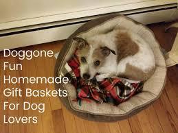 gift baskets for dog homemade