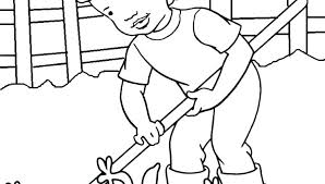 Community Helpers Coloring Page Community Helpers Coloring Page