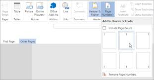 Start Page Numbering Later In Your Document Office Support