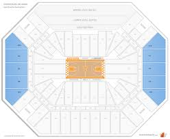 Thompson Boling Arena Seating Chart With Rows Thompson Boling Arena Tennessee Seating Guide