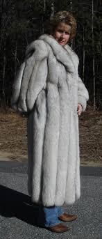 beautiful fox fur coat