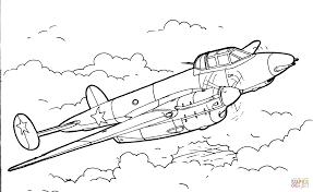 Gevechtsvliegtuig Kleurplaat Gratis Kleurplaten Printen