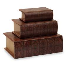 Decorative Boxes Walmart Set of 100 Decorative Nesting Wooden Book Storage Boxes Walmart 2