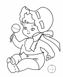 Small Picture Baby Coloring Pages GetColoringPagescom