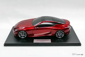 Lexus LF-LC Concept (Red) – Five Axis