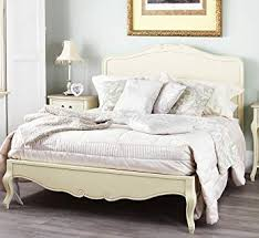 shabby chic bed. Contemporary Chic Juliette Shabby Chic Champagne Double Bed With Wooden Headboard On T
