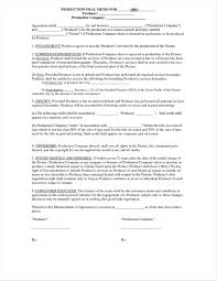 Contract: Video Production Contract Example Uk Pdf Template ...