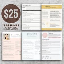 Resume Bundle - Get Noticed! - Resumes