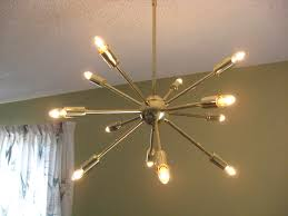 sunburst chandelier lighting sputnik starburst light mini sputnik light sputnic chrome chandelier atom light fixture