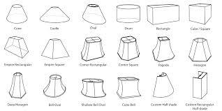 lamp shade types diffe types of lamp shades type of lamp shades amazing types shade connectors lamp shade types