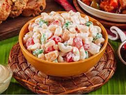 sweet macaroni salad with kaong lady s