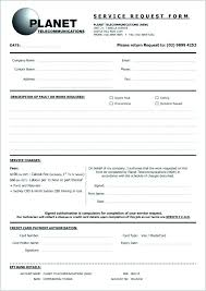Requisition Form In Excel Custom It Service Request Form Template Excel Samples Call Templates Co