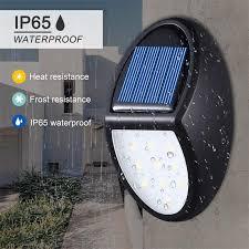 led solar deck lights solar powered