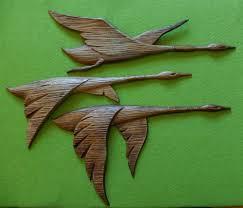 mid century sexton metal flying geese wall art vintage cast on flying geese wall art metal with flying geese wall art elitflat