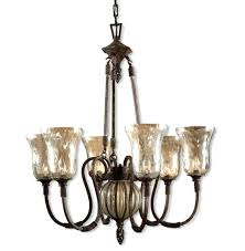 glass chandelier shade seeded replacement breathtaking shades home design ideas interior stained pendant lamp