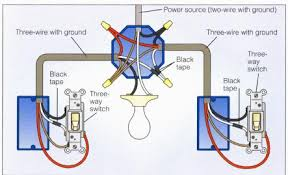 3 way power at light2 wiring a 3 way switch on 3 wire light switch diagram