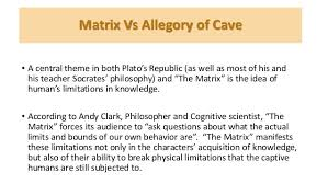 the allegory of the cave essay the allegory of the cave essay   essay topics allegory of the cave and matrix