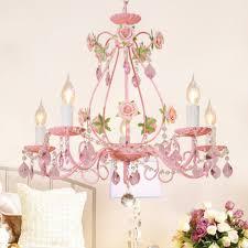 Tangmengyun Europäische Kerze Kristall Kronleuchter Persönlichkeit Dekorative Anhänger Deckenleuchte Kinderzimmer Schlafzimmer Wohnzimmer Restaurant