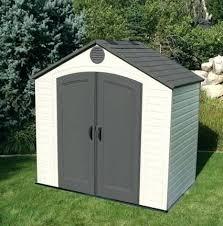 plastic outdoor storage cabinet. Plastic Garden Storage Sheds 8 X 5 Lifetime . Outdoor Cabinet