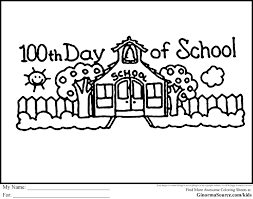 Small Picture Coloring Download 100 Day Of School Coloring Pages 100 Day Of