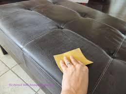 can you paint leather furniture. the painted table boutique yes you can paint a faux leather piece furniture t