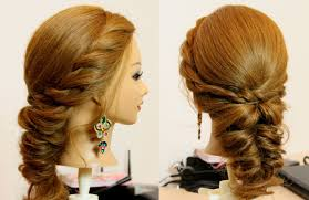 Self Hair Style easy everyday hairstyle for long medium hair tutorial youtube 4119 by wearticles.com