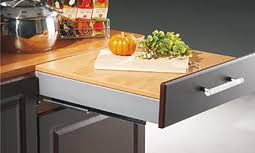 Slow Motion Countertop Extension