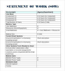It Statement Of Work Partnership Proposal Template Doc Elegant Consulting Proposal