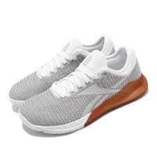 Reebok Nano Size Chart Details About Reebok Nano 9 White Grey Gum Women Crossfit Training Shoes Gym Sneakers Dv6363