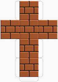 my super mario boy mario able printable block templates super mario able brick block template