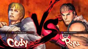 super street fighter iv adon vs ken vs cody vs ryu kotaku