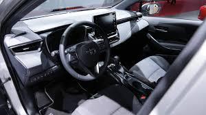 Toyota Corolla 2019 Dashboard Warning Lights 2019 Toyota Corolla Hatch And Wagon Bid Adieu To Auris In Paris