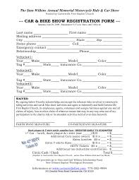 printable registration form template template printable registration form template 2 efficient photo car
