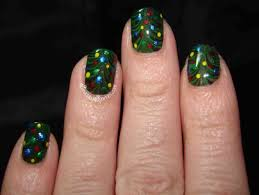 Easy Christmas Tree Nail Designs. christmas nail art ideas for a ...