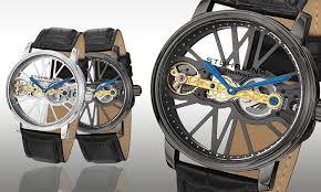stuhrling original men s watch groupon goods stuhrling original men s mechanical watch stuhrling original legacy collection men s mechanical watch