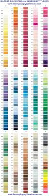 Robison Anton Color Chart Free Thread Chart Downloads Pdf And Other Files