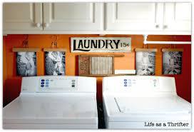 Diy Laundry Room Ideas Life As A Thrifter Diy Laundry Room Display