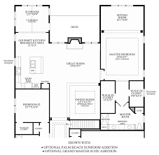 Master Bedroom Suite Floor Plans Additions Regency At Stow The Villas Collection The Bowan Home Design