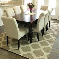 dining room rugs size under