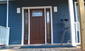 brown garage doorsBrown Garage Door or White