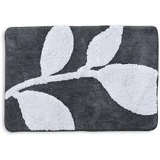 better homes and gardens tranquil leaves decorative bath collection bath rug com