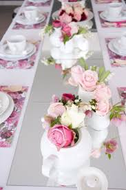 Tea Party Table Decoration Ideas With Rose Flowers 17 Best Ideas About High Tea  Decorations On