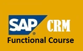 Sap Crm Functional Self Learning Course Self Learning Sap Center