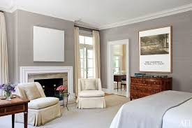 gray bedroom ideas. in the master bedroom of this philadelphia-area home, matching custom-made slipper gray ideas a