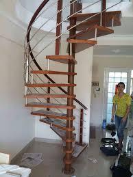stairs modern steel glass stair railing spiral staircase design