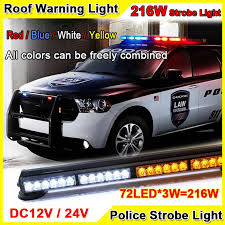 Strobe Lights For Cars Gorgeous 60W Super Bright Car Roof Led Strobe Lights Bar Police Emergency